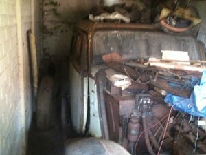 1936 MG SA restoration project (barn find) & SVW parts