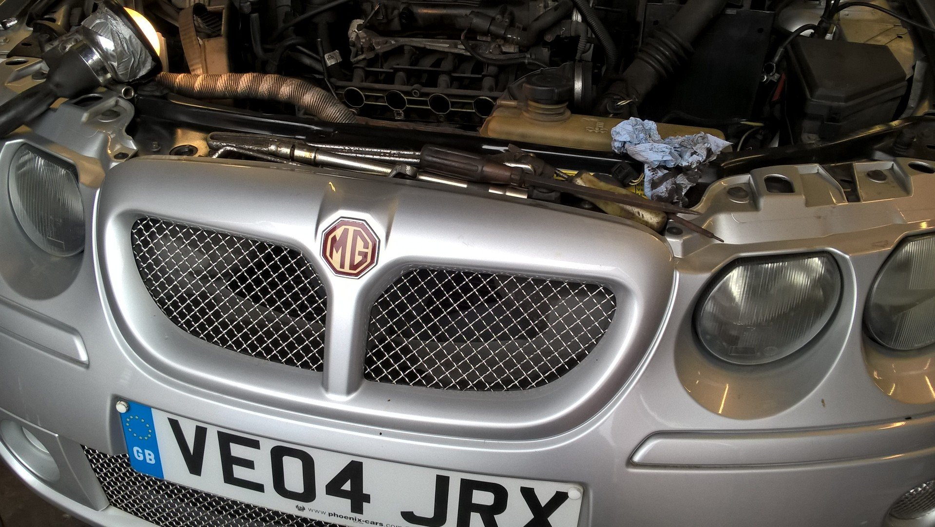 2004 mg zt 1.8t 160+ saloon For Sale (picture 5 of 6)