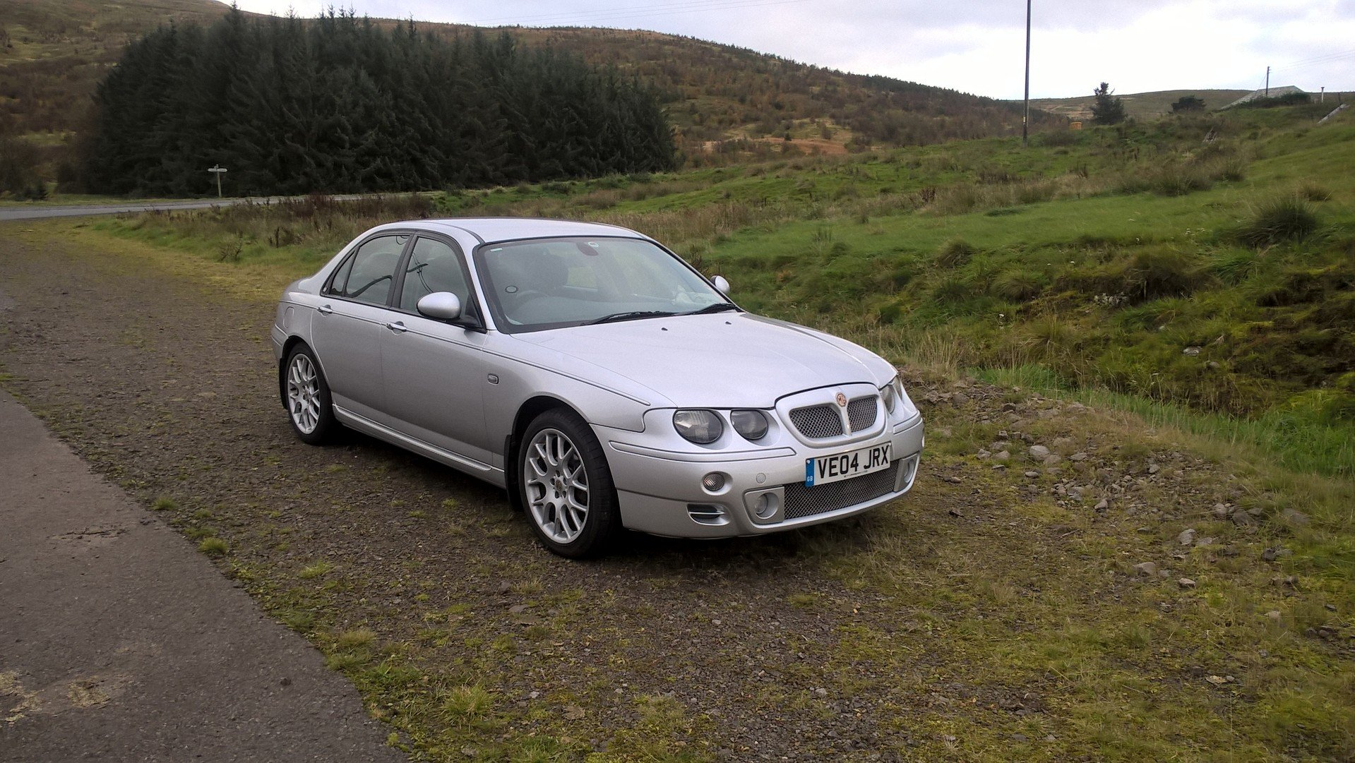 2004 mg zt 1.8t 160+ saloon For Sale (picture 6 of 6)