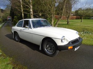 1975 MGB GT V8 with Overdrive For Sale