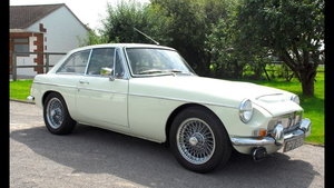 1969 MGC GT - Snowberry White For Sale