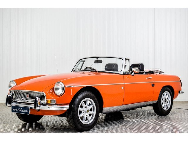 1972 MG MGB Roadster 1800 Overdrive RHD For Sale (picture 1 of 6)