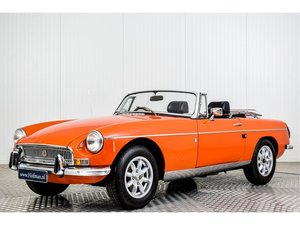 1972 MG MGB Roadster 1800 Overdrive RHD