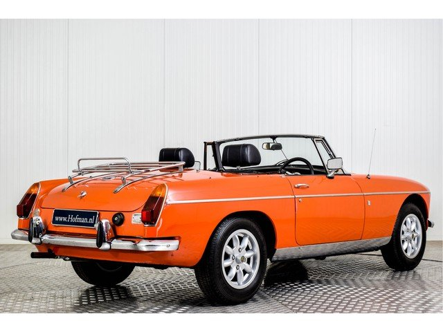 1972 MG MGB Roadster 1800 Overdrive RHD For Sale (picture 2 of 6)