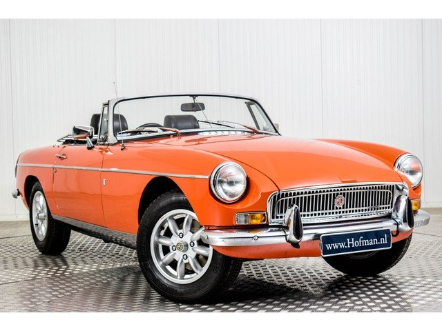 1972 MG MGB Roadster 1800 Overdrive RHD For Sale (picture 3 of 6)