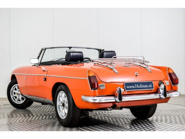 1972 MG MGB Roadster 1800 Overdrive RHD For Sale (picture 4 of 6)