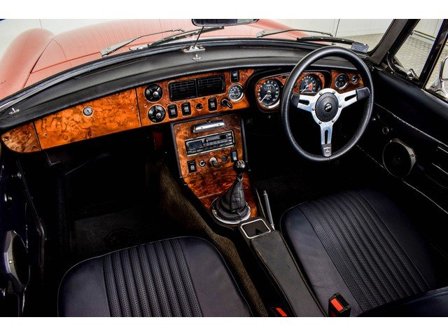 1972 MG MGB Roadster 1800 Overdrive RHD For Sale (picture 5 of 6)