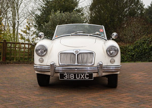 1958 MG A Roadster SOLD by Auction