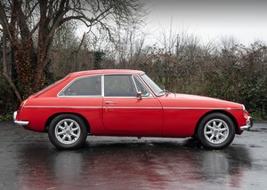 1972 MG B GT SOLD by Auction