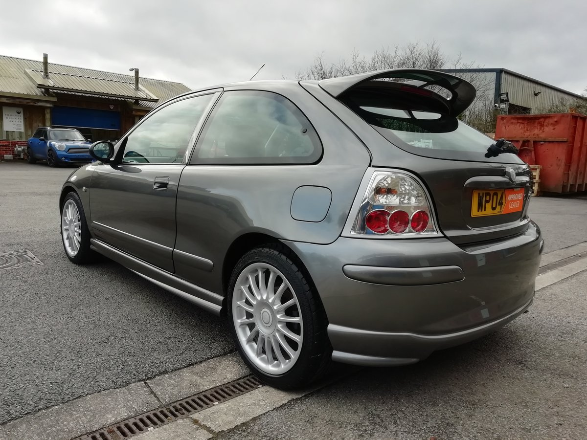2004 MG ZR+ 2.0 TD 115 (Turbo Diesel) + Long MOT + Lovely History For Sale (picture 3 of 6)