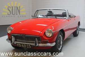 MG B cabriolet 1973, good condition. For Sale