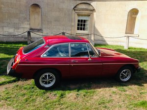 1977 Mgb gt damask red overdrive For Sale