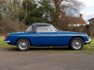 MG B Roadster, 1972, Teal Blue SOLD