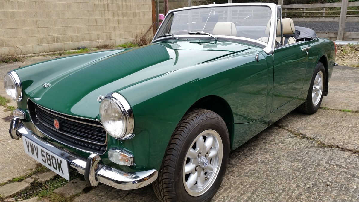 1971 Downton supplied and modified 1275cc MG Midget SOLD! For Sale (picture 1 of 6)