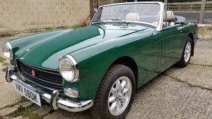 Downton supplied and modified 1275cc MG Midget SOLD!