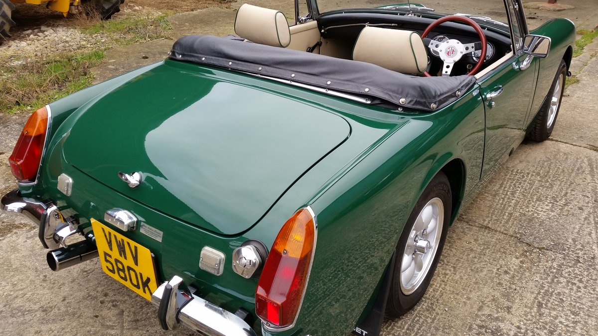 1971 Downton supplied and modified 1275cc MG Midget SOLD! For Sale (picture 6 of 6)