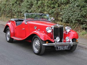 1952 MG TD - Delightfully Presented, 5 Speed Gearbox