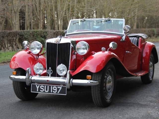 1952 MG TD - Delightfully Presented, 5 Speed Gearbox For Sale (picture 2 of 6)