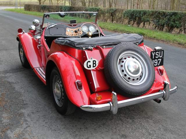 1952 MG TD - Delightfully Presented, 5 Speed Gearbox For Sale (picture 3 of 6)