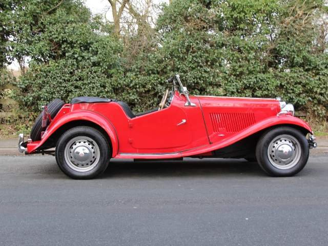1952 MG TD - Delightfully Presented, 5 Speed Gearbox For Sale (picture 4 of 6)