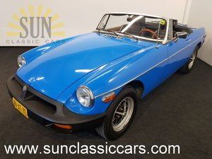 MGB cabriolet 1979, good condition. For Sale