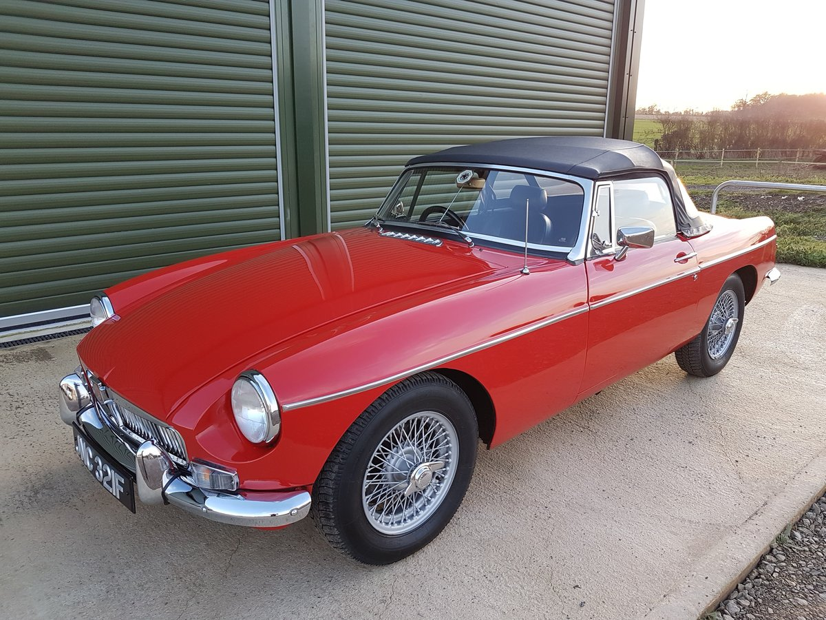 1967 MGB Roadster   For Sale (picture 2 of 6)