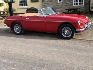 Mgb Roadster-1963 Pull Handle - IMMACULATE-NICE UPGRADES SOLD