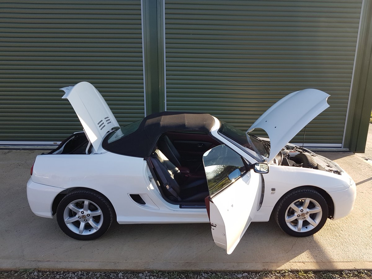 2002 MG TF 135 One owner, low mileage SOLD (picture 6 of 6)