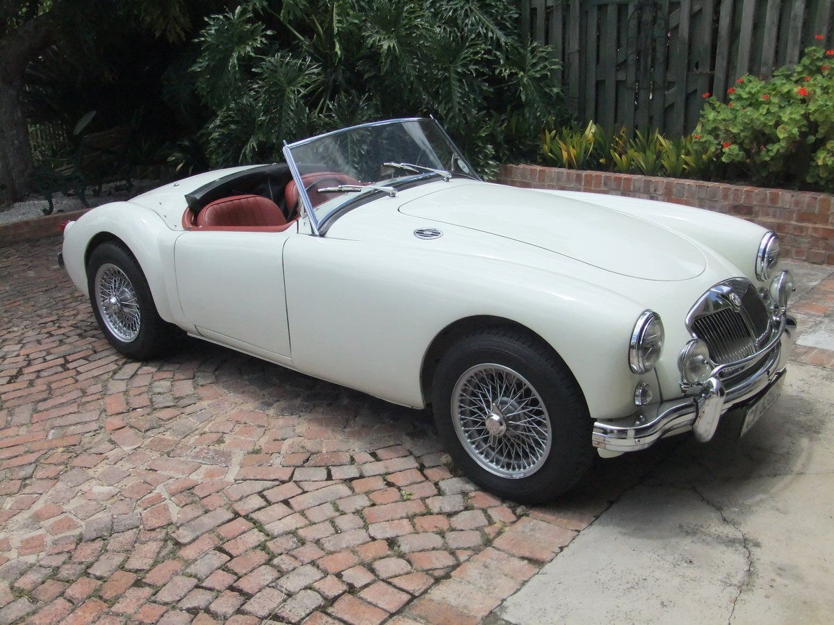 1956 MGA ROADSTER - RHD & Matching No's. RESTORED For Sale (picture 1 of 6)
