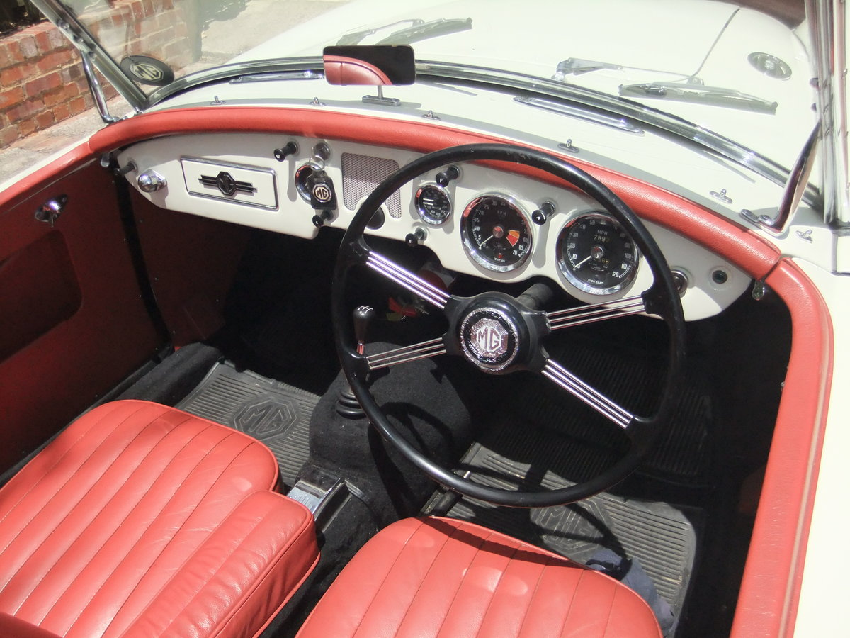 1956 MGA ROADSTER - RHD & Matching No's. RESTORED For Sale (picture 3 of 6)