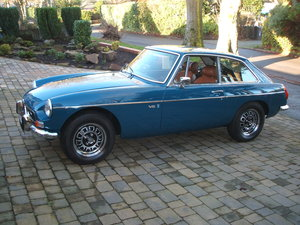 1973 Factory MGB GT V8 in Show Condition For Sale