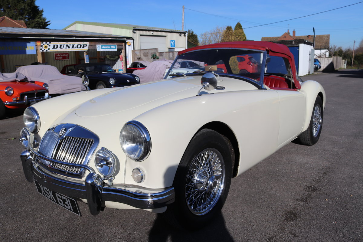 1957 MGA Roadster, fully restored and upgraded SOLD (picture 1 of 5)