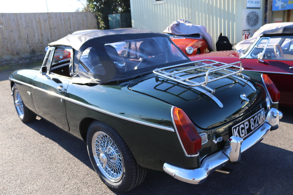 1971 MGB Heritage Shell V8  Roadster SOLD (picture 2 of 5)