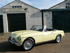 1968 MGC Roadster automatic, Sold SOLD