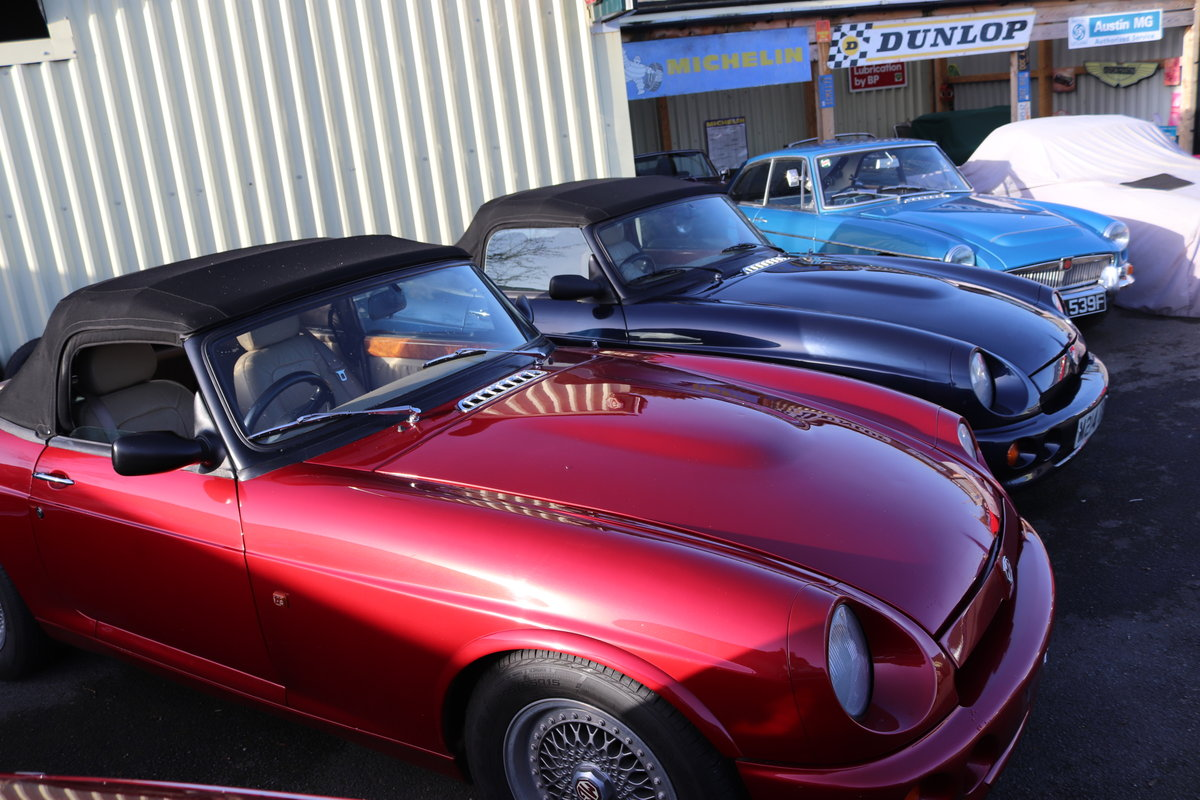 LARGEST SELECTION OF V8 GT/roadster/RV8/MGC IN THE UK.. For Sale (picture 3 of 6)