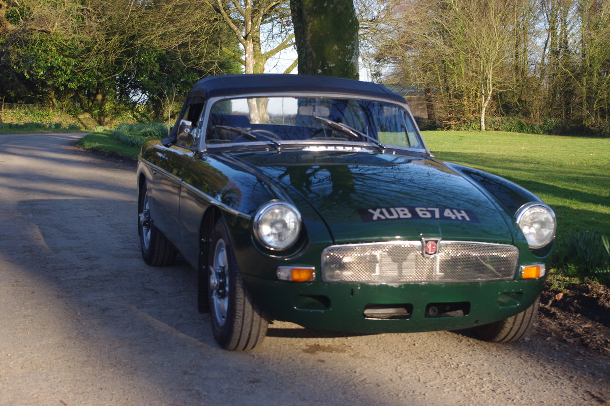 1969/70 MGB SEBRING ROADSTER For Sale | Car And Classic