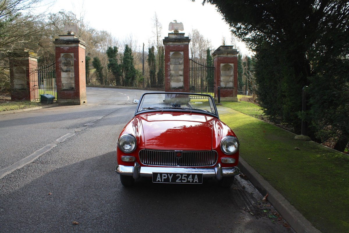 MG Midget Mk1, 1963.  Rare example with sliding windows. For Sale (picture 2 of 6)