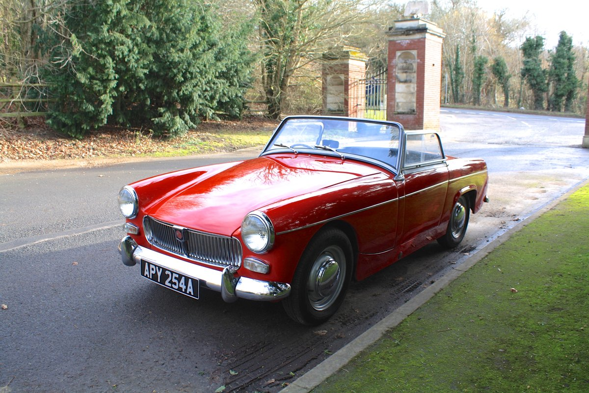 MG Midget Mk1, 1963. Rare example with sliding windows. For Sale (picture 3 of 6)
