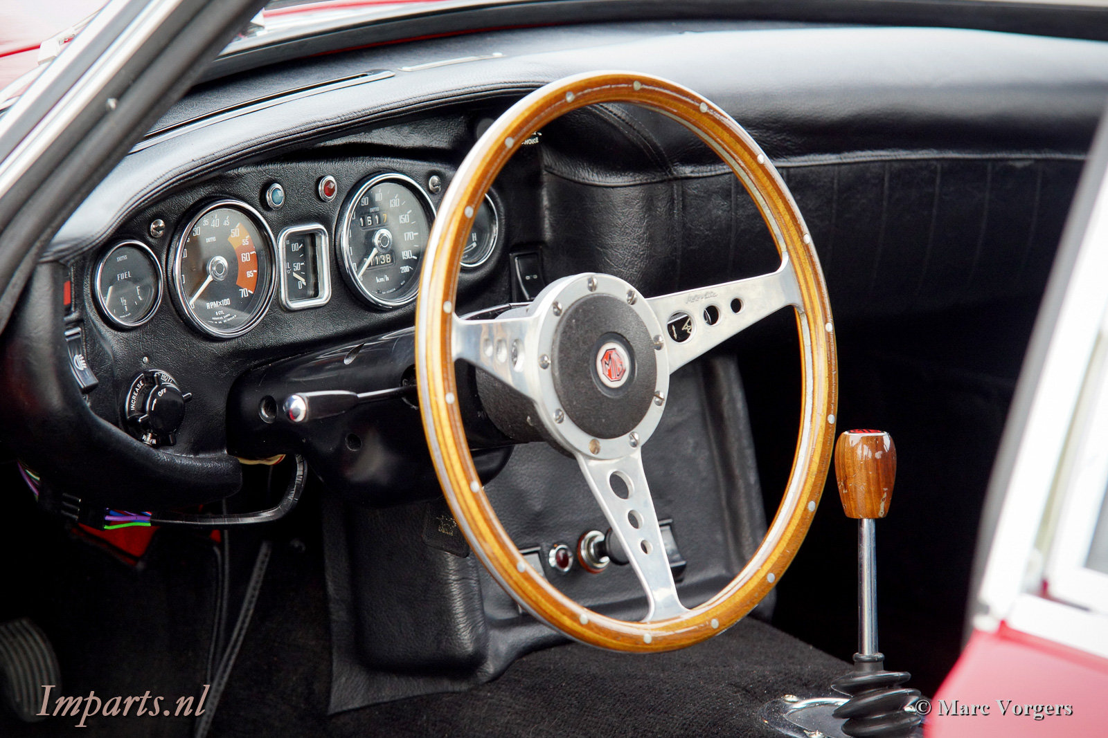 1969 Excellent MGC GT Overdrive LHD For Sale (picture 2 of 6)