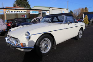 1966 MGB Roadster, mk1, old english white SOLD