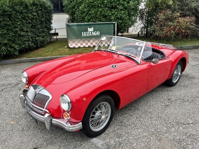 1960 MG A 1600 SPIDER MKI MG CERTIFICATE For Sale (picture 1 of 6)