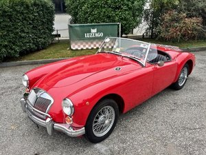1960 MG A 1600 SPIDER MKI MG CERTIFICATE For Sale