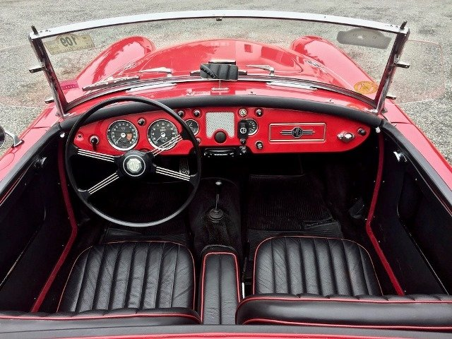 1960 MG A 1600 SPIDER MKI MG CERTIFICATE For Sale (picture 4 of 6)