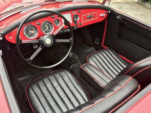 1960 MG A 1600 SPIDER MKI MG CERTIFICATE For Sale (picture 5 of 6)