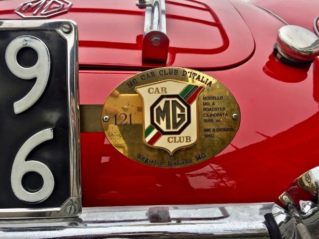 1960 MG A 1600 SPIDER MKI MG CERTIFICATE For Sale (picture 6 of 6)