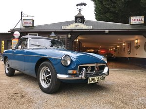 1973 MGB ROADSTER CHROME BUMPER For Sale