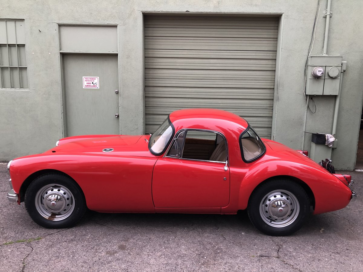 ***1959 MGA 1500 Coupe For Sale (picture 1 of 6)