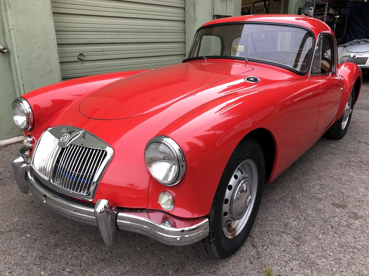 ***1959 MGA 1500 Coupe For Sale (picture 2 of 6)