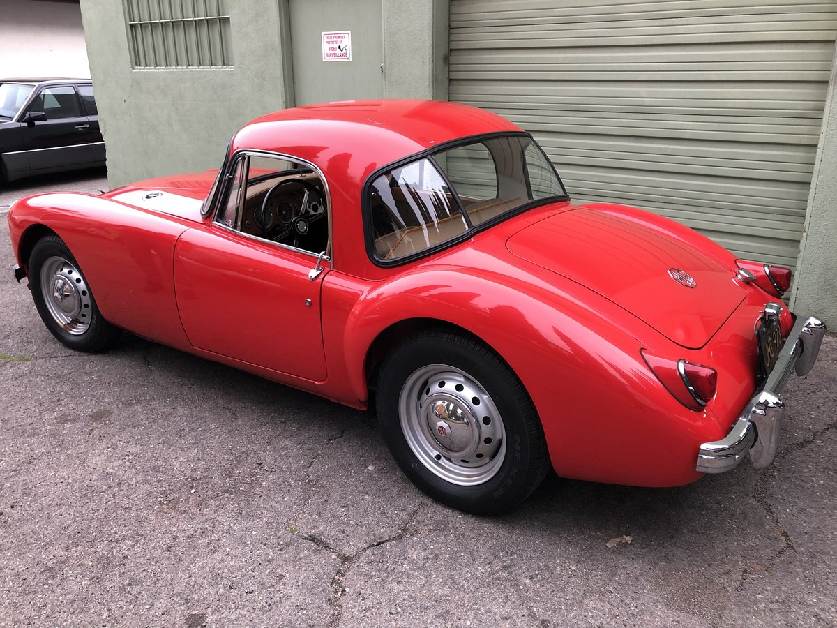 ***1959 MGA 1500 Coupe For Sale (picture 3 of 6)