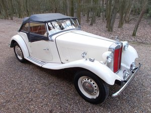 1952 MG TD2 Left Hand Drive  SOLD